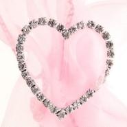 Heart Diamond Buckle