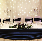 Backdrop and Top Table Swag